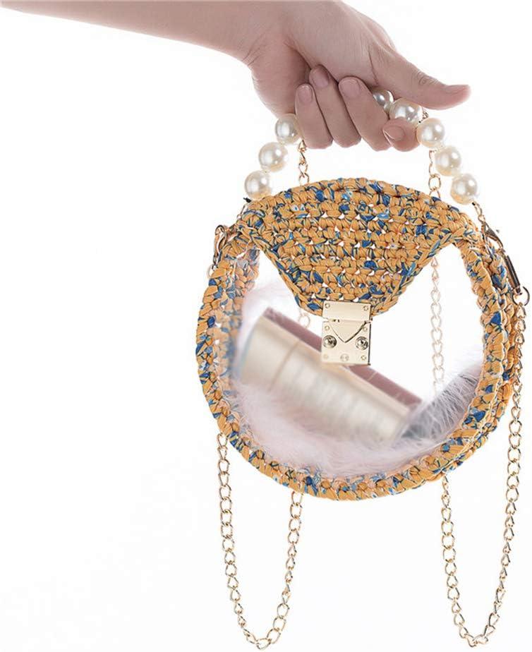 Lihuzmd Handbag Free shipping All items free shipping Transparent Acrylic DIY Ladies Be Bag Hand-Woven
