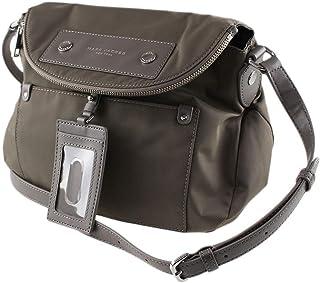 M0014625 Nylon Medium Handbag, Quartz Grey
