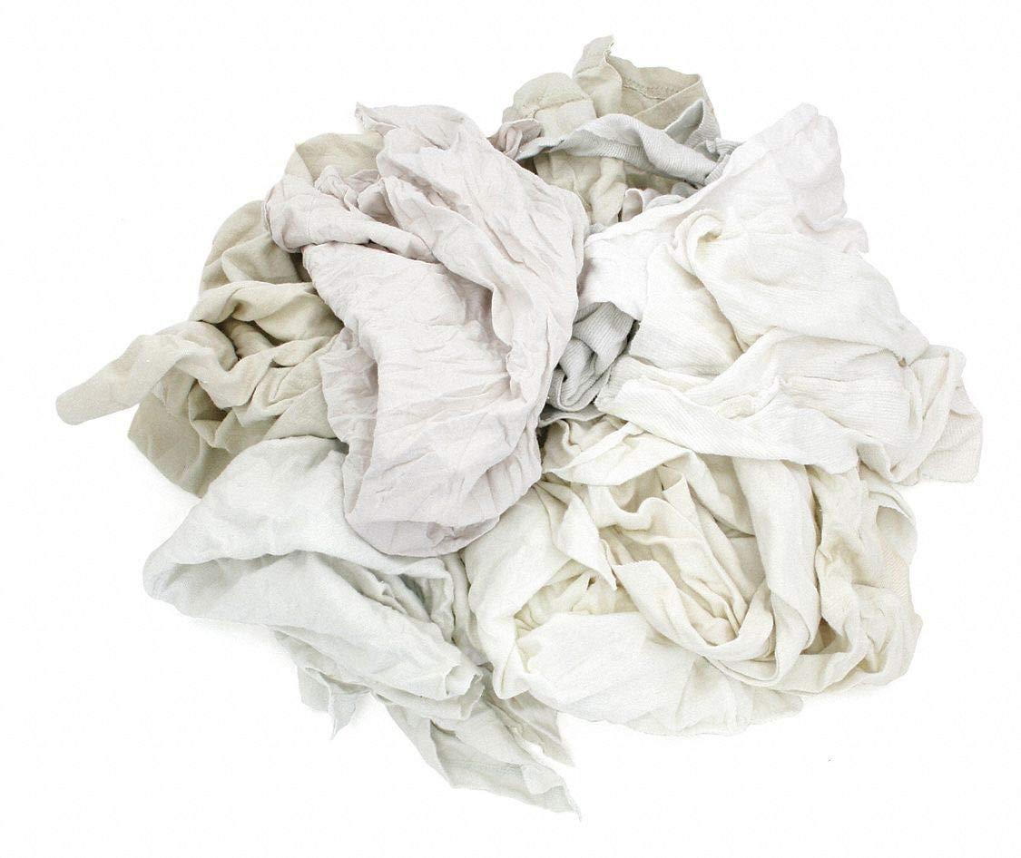 T-Shirt Cloth Rag Houston Mall Selling and selling 50 Varies-204000358 lb White