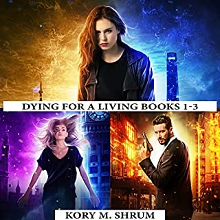 Dying for a Living Boxset: Books 1-3 of Dying for a Living Series                   By:                                                                                                                                 Kory M. Shrum                               Narrated by:                                                                                                                                 Hollie Jackson                      Length: 27 hrs and 16 mins     153 ratings     Overall 4.2