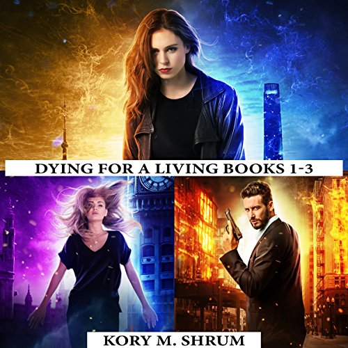 Dying for a Living Boxset: Books 1-3 of Dying for a Living Series cover art