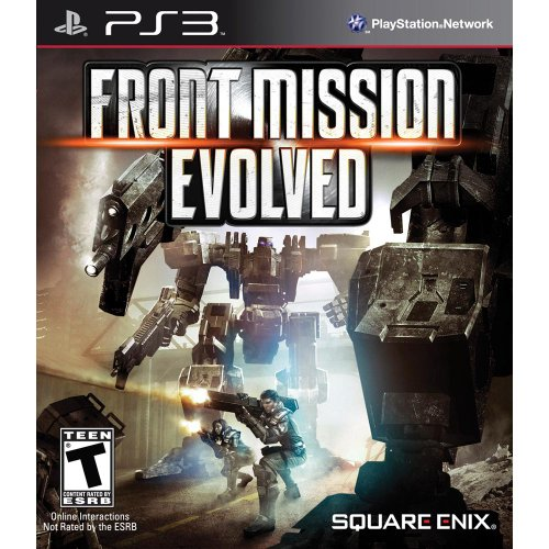 Square Enix Front Mission Evolved, PS3
