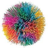 Toysmith Rainbow Pom Ball