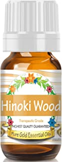 Pure Gold Hinoki Wood Essential Oil, 100% Natural & Undiluted, 10ml