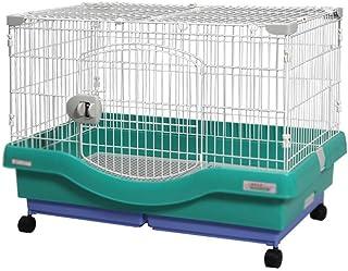 XCLLL Cerca del Animal doméstico Jaula de Conejo Perrera Nido de Gato, Portátil Grueso Antideslizante