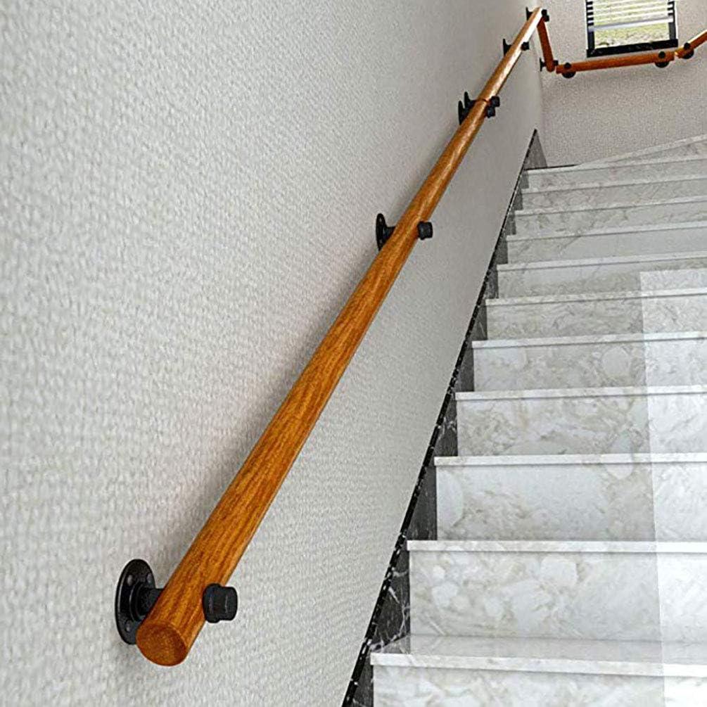 Rampe Escalier Bois Garde-Corps Pour Escalier Corde Rampe Escalier Main courante descalier de pin lourd main courante de s/écurit/é int/érieure antid/érapante en bois plein appropri/ée au grenier aux