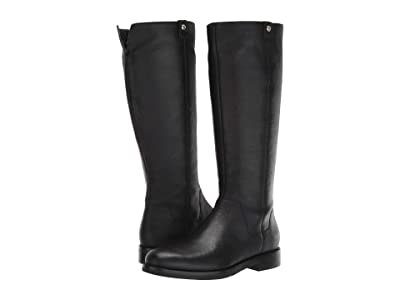 Cole Haan Calissa Riding Boot (Black Leather) Women