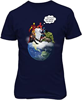 Jesus and Superheroes Earth How I Saved The World Christian Mens T-Shirt