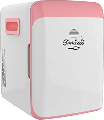 Cooluli enfriador eléctrico y calentador, rosa, 10 litros