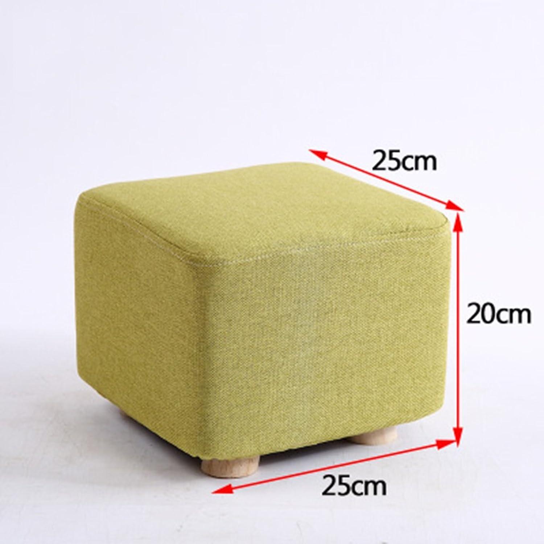 Stools Living Room Solid Wood Sofa Stool Family Stool Bedroom Stool 25  25  20cm