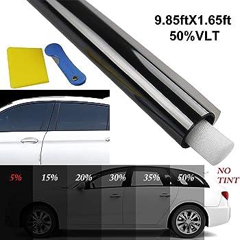 Fansport Rifornimenti dellautomobile del Film Protettivo della Tinta della Finestra di Protezione Anti UV del Film della Finestra di Automobile Pellicole oscuranti