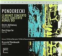 Penderecki: Clarinet Concerto /Flute Concerto / Agnus Dei (2007-01-30)