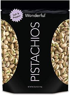 Wonderful Salt and Pepper Pistachios|40 Ounce
