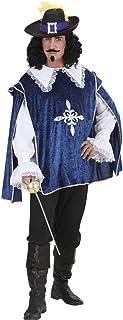 Erwachsene Musketier Kostüm Herren Mittelalterlich Buch Woche Tag Outfit M