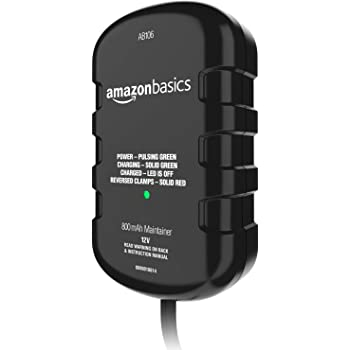 AmazonBasics Battery Charger 12 Volt 800mA