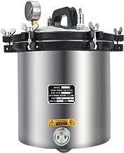 دستگاه استریلیزر اتوکلاو بخار 18L 4.7 گالن آلومینیوم آلیاژ آزمایشگاه اتوکلاو تجهیزات 110 ولت اتوکلاو تجاری ضد زنگ قابل حمل برای بیمارستان ، کارخانه ، ایستگاه های بهداشت ، کلینیک ها ، تاتو و دندان