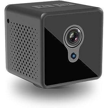小型カメラ 隠しカメラ WiFi 監視カメラ Witacles 8時間稼働 1080P高画質 Wifi対応 遠隔操作 スパイカメラ 防犯カメラ 長時間録画 バイクに取り付け可能 スマホ対応 屋外 赤外線暗視 動体検知 広角140° IOS/Android対応 日本語取扱説明書付