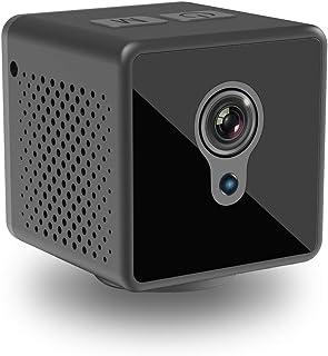 小型カメラ 隠しカメラ WiFi 監視カメラ Witacles 8時間稼働 1080P高画質 Wifi対応 遠隔操作 スパイカメラ 防犯カメラ 長時間録画 バイクに取り付け可能 スマホ対応 屋外 赤外線暗視 動体検知 広角140° IOS/An...