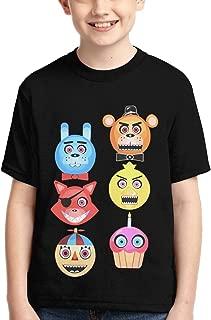 Five Nights at Freddy's Freddy Fazbear Glow in The DarkShirt Boys Girl Fashion 3D Print Short Sleeve Cotton T-Shirt