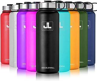 JINLING 魔法瓶 真空断熱 保温 大容量 ステンレス鋼304 直飲み 0.6/0.8/1.1/1.5リットル