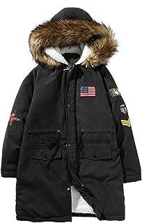 Winter Long Sleeve Hooded Pocket Thickening Pullover Shirt Top Jacket Coat Mens