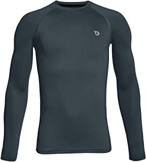 BALEAF Youth Boys' Compression Thermal Shirt Fleece Base Layer Long Sleeve Crew Neck Top