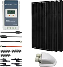 ACOPOWER 300 Watts 12/24 Volts Monocrystalline Panel Solar RV Kits with 30A MPPT LCD Charge Controller/Mounting Brackets / MC4 Connectors/Solar Cables/Cable Entry housing