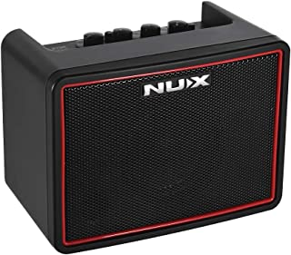 Muslady NUX Mighty Lite BT Mini Desktop Electric Guitar Amplifier 3W Amp 3 Channels Built-in Delay Reverb Effects 9 Drum Patterns Metronome Tape Tempo