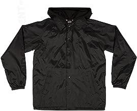 Independent Men's Tonal Bar/Cross Hooded Windbreaker Jackets