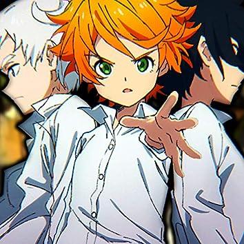 Emma, Ray y Norman Rap. Yakusoku No Neverland
