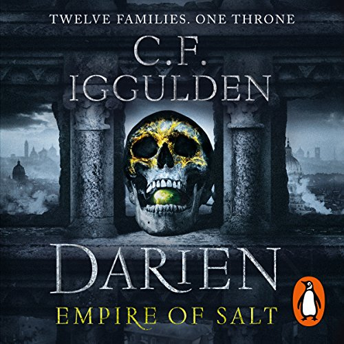 Darien audiobook cover art