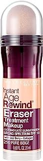 Maybelline New York Instant Age Rewind Eraser Treatment Makeup, Pure Beige, 0.68 fl. oz.