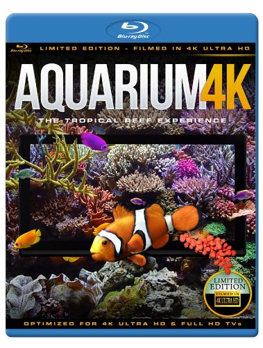 AQUARIUM 4K - The Tropical Reef Experience (Limited Edition - Filmed in 4K ULTRA HD) [Blu-ray] [NTSC] [UK Import]