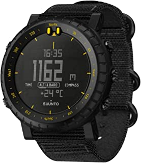 Core Outdoor Watch w/Altimeter, Barometer & Compass - Black/Yellow