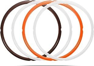 6 Qt Sealing Ring Compatible with Instant Pot 6 Quart Model, Fits Duo 6 Quart, Lux 5/6 Quart, Duo Plus 6 Quart, Ultra 6 Quart, Viva 6 Quart, Nova Plus 6 Quart, Max 6 Quart, Smart Bluetooth, 4-Pack