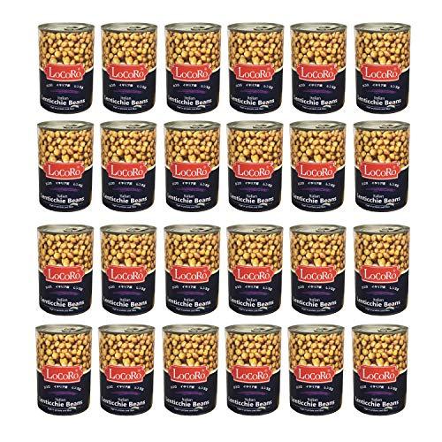 イタリア産 ロコロ レンティル レンズ豆 Lentils 400g ×24個