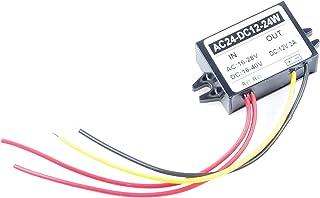 KNACRO AC DC to DC Converter AC 16-28V DC 16-40V 24V 36V Step Down to 12V 2A 24W Power Supply Module (DC 12V 2A)