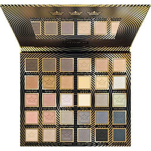 Catrice Golden Crowns 30 Colour Eyeshadow Palette Champagne & Taupe - 1er Pack