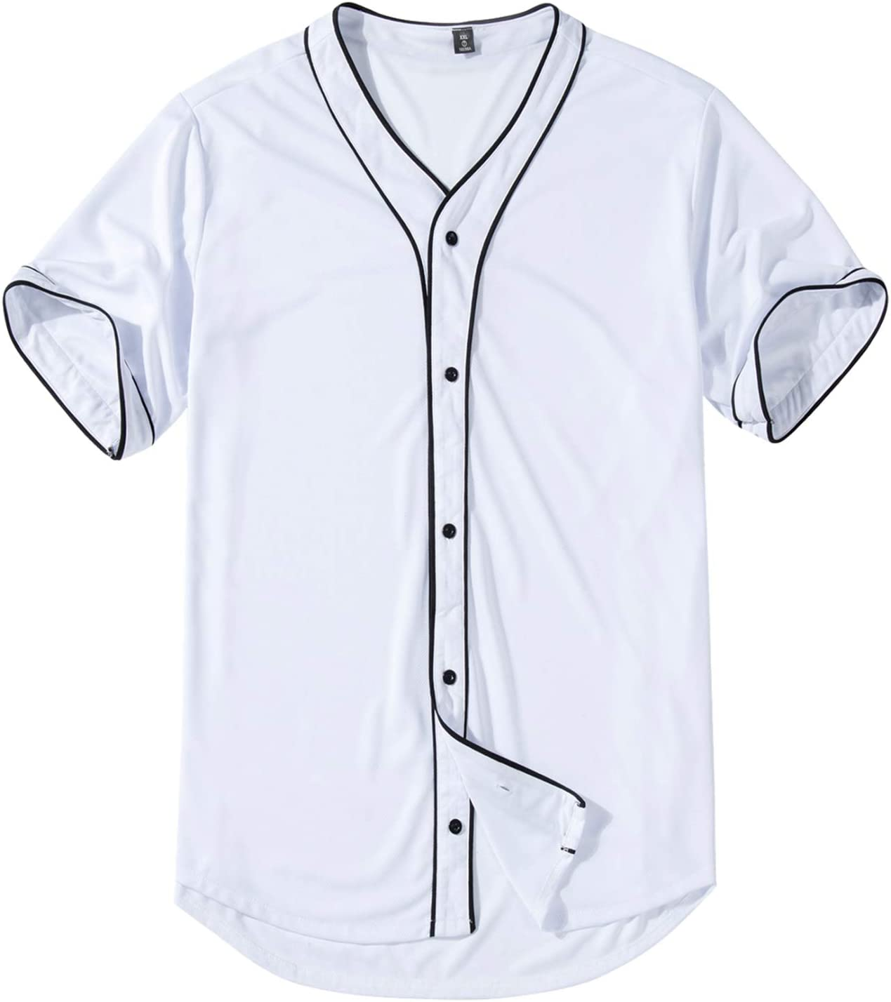 Mowbeat Clearance SALE! Limited time! Boys Youth Black White Baseba Parent-Child Ranking TOP9 Jersey Family