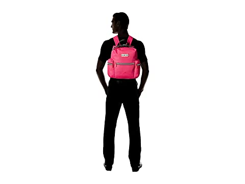 Hunter Brillante Nylon Rosa Mini Original Mochila gZwrgq