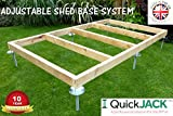 Quick Jack Shed Base System
