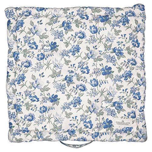 Greengate COTBOXCUSDON2504 Donna Sitzkissen blue 50 x 50 cm ( 1 Stück )