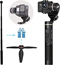 Feiyu G6 Upgraded Handheld Gimbal for Gopro Hero 8/7/6/5/4 Including Adjustable Tripod and Extension Rod