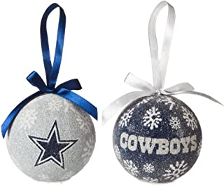 Team Sports America Dallas Cowboys Official NFL LED Box Set Ornaments by Evergreen Enterprises