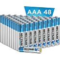 48-Count Nectium AAA Alkaline Pure-Gold-Bottom IoT Batteries
