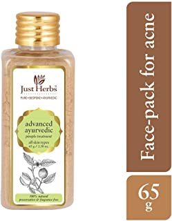 Just Herbs Advanced Ayurvedic Pimple Treatment Face Pack, 65 g