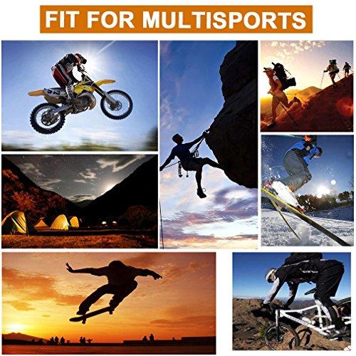 Freemaster Herren Outdoor-/Sport-Handschuhe, ganze Finger, zum arbeiten, für die Jagd und fürs Motorrad-/Radfahren, Klettern, Skilanglaufen, Handschuhe - 3