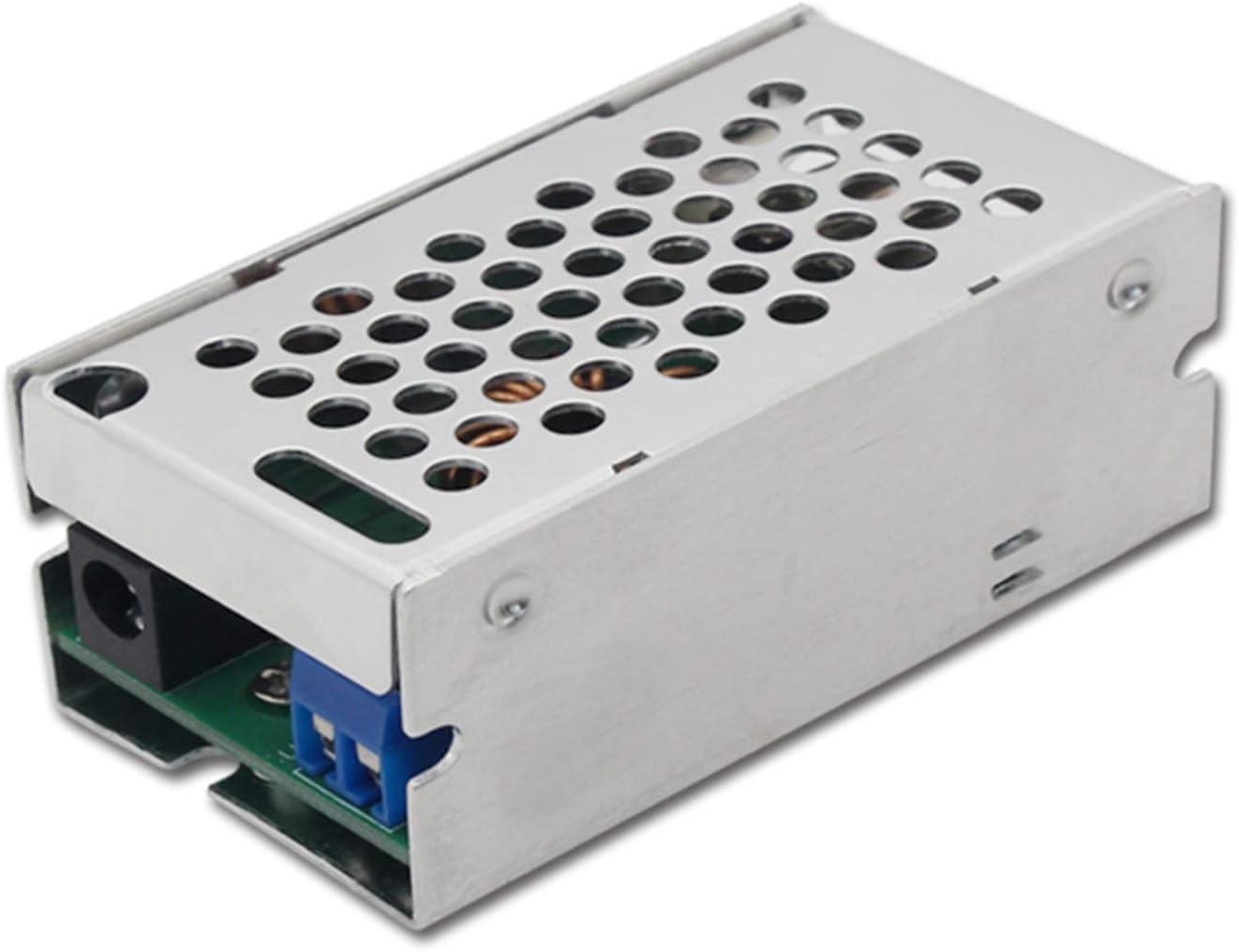 DC Converter 12V/24V to 5V 6A 30W USB Converter Buck Module, DC9V-35V to 5V Regulator Car Power Converter with 4 USB Output Power Adapter