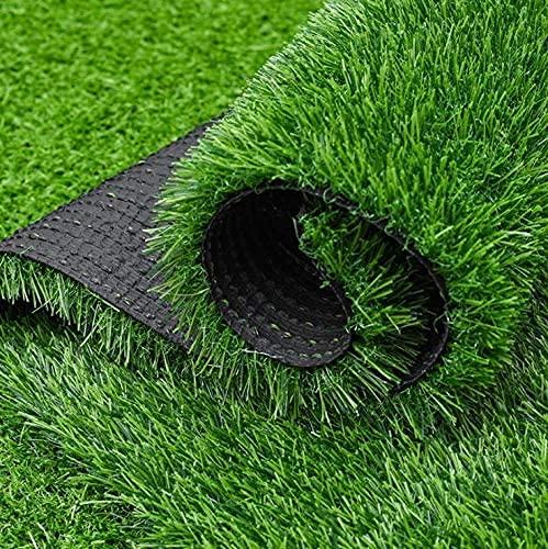 bimiti 人工芝 高密度1m × 10m 春色 人工芝マット カーペット 芝丈 30mm 人工芝シート リアル ロール 芝生ロールマット 屋上 テラス 芝生 マット高密度 極細 耐UV 防炎 水はけ可