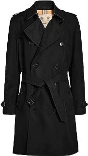 Luxury Fashion Mens 4073481 Black Trench Coat | Fall Winter 19